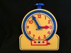 The Primary Time Teacher 12 Hour Teaching Clock