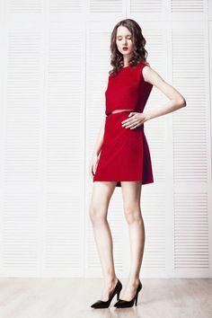 Konzeptuell Ruby Dress - Women's Pleated #dresses