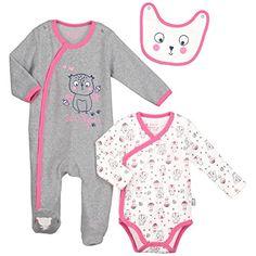 ed935b2fb71a7 Petit Béguin - Kit naissance bébé fille Petite forêt - Taille - 1 mois (56  cm)  Amazon.fr  Bébés   Puériculture