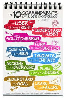 10 Commandments of User Experience