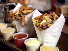 Pommes Frites and two dipping sauces!