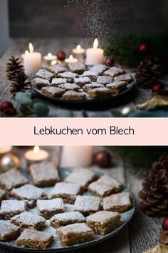 Lebkuchen vom Blech | schnell und einfach | Fräulein Meer backt #lebkuchen #plätzchen #blech #weihnachten #backen
