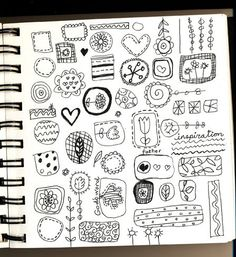 doodles by Lesley Grainger - embroider