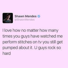 I appreciate that you know that it is possible for us to get bored, shawn. Its good that you see things in other perspectives. :) love you sweetie