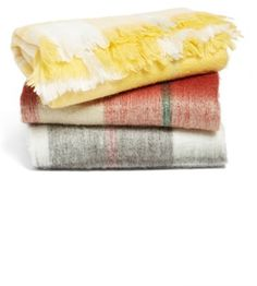 Nordstrom at Home 'Brushed Plaid' Throw