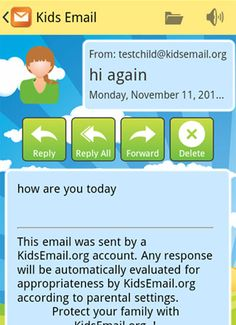 Kids Email offers safety features unmatched by TocoMail, Zoobuh, or others. Checkout some of our powerful yet simple parental control options. Try KidsEmail for free. Email for kids! Kids Email, Parental Control, No Response, About Me Blog, Parenting, Childcare, Natural Parenting