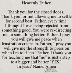 Prayer to help me face rejection and heartbreak.