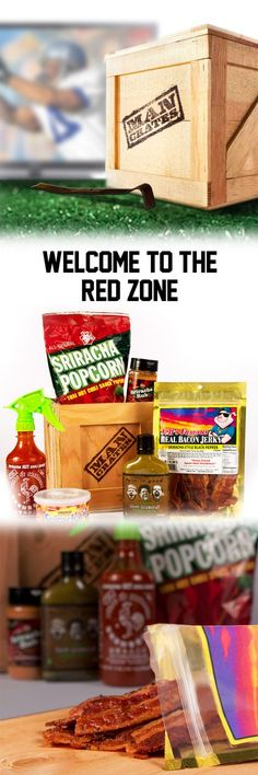 Looking to spice up the game? Bring the Hot & Spicy crate to the party this weekend! #mancrates