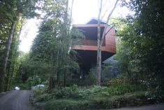 Cullen House  3333 NW Quimby St, Portland, Oregon.Summit discovered this house, designed by Skylabs, when it was featured on the cover of Portland Spaces magazine. The home was built for the Hoke family. John Hoke is the VP of Global Footwear Design for Nike