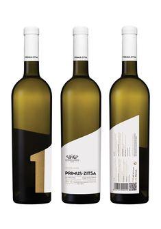 Kommigraphics studio re-designed all seven labels for the premium wines range of Glinavos Domaine