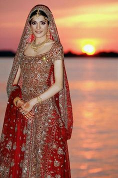 Muslim bride walima ....outfit