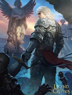 Swordman of Eternity - Legend of The Cryptids by ~LASAHIDO on deviantART