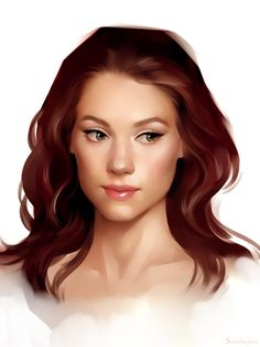 Starting to see the look but brown hair and curlier.  Astrid Berges-Frisbey by sharandula.deviantart.com on @deviantART