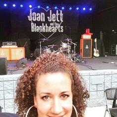 Cant wait to see Joan Jett and the Blackhearts!  Second row is not too shabby. Thank you @visit_peachtree_city!! #joanjett #joanjettandtheblackhearts #80s #rockgoddess #musicismydrug #musicismylifeblood #simplyamazingliving #peachtreecity #thefred #80smusic #ihatemyselfforlovingyou #putanotherdimeinthejukeboxbaby #crimsonandclover #badreputation #idontgiveadamnaboutmybadreputation #atlantaconcerts #iloverocknroll #nag #fakefriends #cherrybomb #realwildchild #therunaways #lightofday