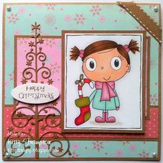 Made using a Digi Stamp Boutique Image and First Edition Papers.    For more info please see my blog - http://kittyskrafty.blogspot.co.uk