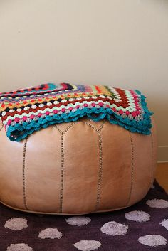 Morocco Pouf by solutionsoap, via Flickr