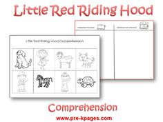 Free Little Red Riding Hood Comprehension Activity Fairy Tale Activities, Reading Activities, Classroom Activities, Rhyming Preschool, Preschool Themes, Traditional Stories, Traditional Tales, Classroom Discipline, Fairy Tales Unit