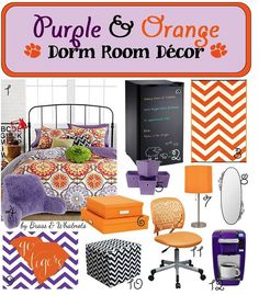Show your #Clemson pride when you decorate your room! #Decor #GoTigers #ClemsonView
