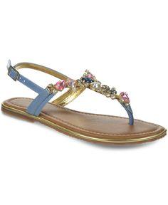 Carlos by Carlos Santana Marquee Flat Thong Sandals - Sandals - Shoes - Macy's