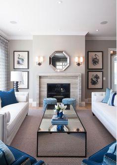 Living Room Decorating Ideas. Living room decor. Living room furniture and decor ideas #LivingRoom  Atmosphere Interior Design Inc.