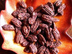 My Big Green Cookbook: Cocoa Roasted Pecans