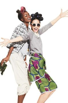 Spring Fashion: Mix Classics with Indian Saris, African Ikats, and Chinese Brocades   Teen Vogue