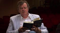 """""""You come to love poetry as a clear statement,"""" Keillor told NewsHour correspondent Jeffrey Brown. """"Somebody who is telling you straight fro..."""