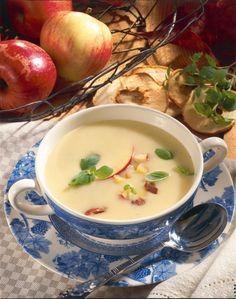 Unser beliebtes Rezept für Cremige Kartoffel-Apfel-Suppe und mehr als 55.000 weitere kostenlose Rezepte auf LECKER.de.
