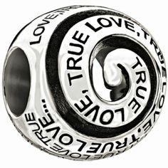 Chamilia - Sterling Silver 'True Love' Bead- H. Samuel the Jeweller