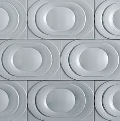 """""""Saturn"""" in Moon Garden Gloss from the Kaza Concrete Tile Collection - Available at World Mosaic Tile in Vancouver"""