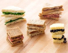 It's officially back-to-school season, and September has us thinking about sandwiches here at Brit HQ. If you're looking for a way to upgrade a brown bag lunch, we've got five tasty tea sandwiches that are way better than your plain PB&J. Bonus: you can make each one in under 5 minutes. You can cut them into fun shapes for the kiddos, too.