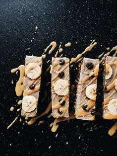Raw Peanut Butter Banana Cream Bar — Lee Tilghman
