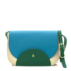 dc4373a009a0 Dot Color Block Bag by Emil Erwin Prom Accessories, Leather Satchel,  Leather Bags,
