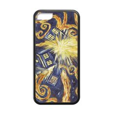 Doctor Who Exploding TARDIS Case for iPhone 5c