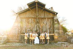 bridal party photos, legacy farms, wedding photography