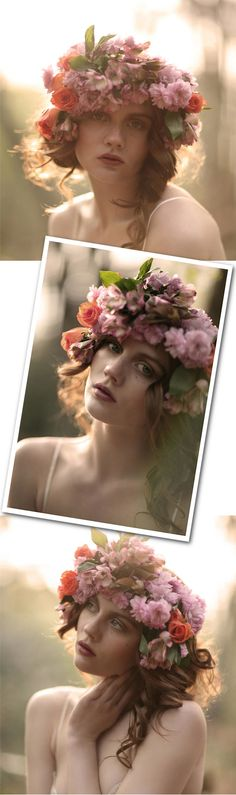 Omg I think this is the wreath I need to wear for coachella for Florence show!