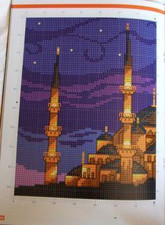 Gallery.ru / Фото #3 - Голубая мечеть ночью, Стамбул - DELERJE