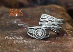 Created Patiently, Crafted Precisely!! S&K Diamonds brings you a collection of magnificently incredible rings to grace your fingers.