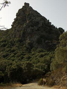 Col de Santa Lucia (Haute-Corse). Tour dite de Sénèque.