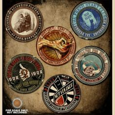 Discworld Stickers - Clubs and Societies Fantasy Fiction, Fantasy Books, Discworld Characters, Terry Pratchett Discworld, Travel Posters, Paper Art, Badge, Creations, Geek Stuff