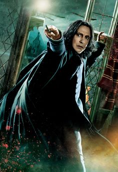 Because Snape is a badass and I love him.