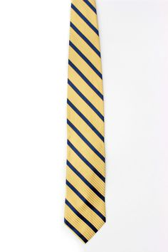joseph abboud ronnie silk tie in yellow and blue