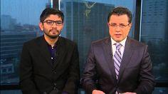 """Jorge Ramos habla con dos de los escritores de """"La Casa Blanca de Peña N..."""