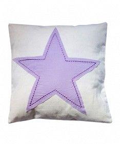 Estrella Blanco/Lila40 x 40 cm
