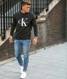 17cc6f9956d3 Calvin Klein Modern Men Street Style