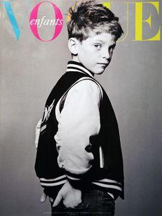 vogue enfants | Tumblr... Love the varsity jacket...