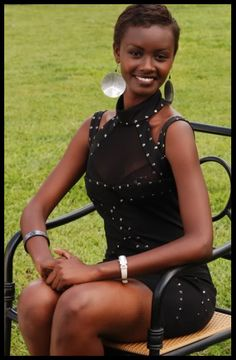 Many people know Rwanda for its former internal struggles.  But this Rwandan beauty serves as a representation of all of the beauty and elegance that come from Rwanda.  She represented her country beautifully in the Miss Universe competition.  Grace Bahati - Rwanda - Beauty Queen
