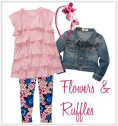 Found this Oshkosh outfit on Facebook that a mommy blogger put together and had to pin it because I would love my daughter to wear it...