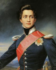 "The rather good looking Prince Otto of Bavaria, King of Greece (brother of ""Mad"" Ludwig)"