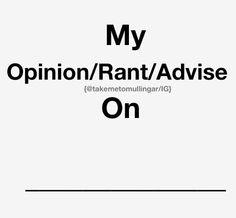 best rant topics